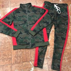 Men's Camouflage Fashion Tracksuit